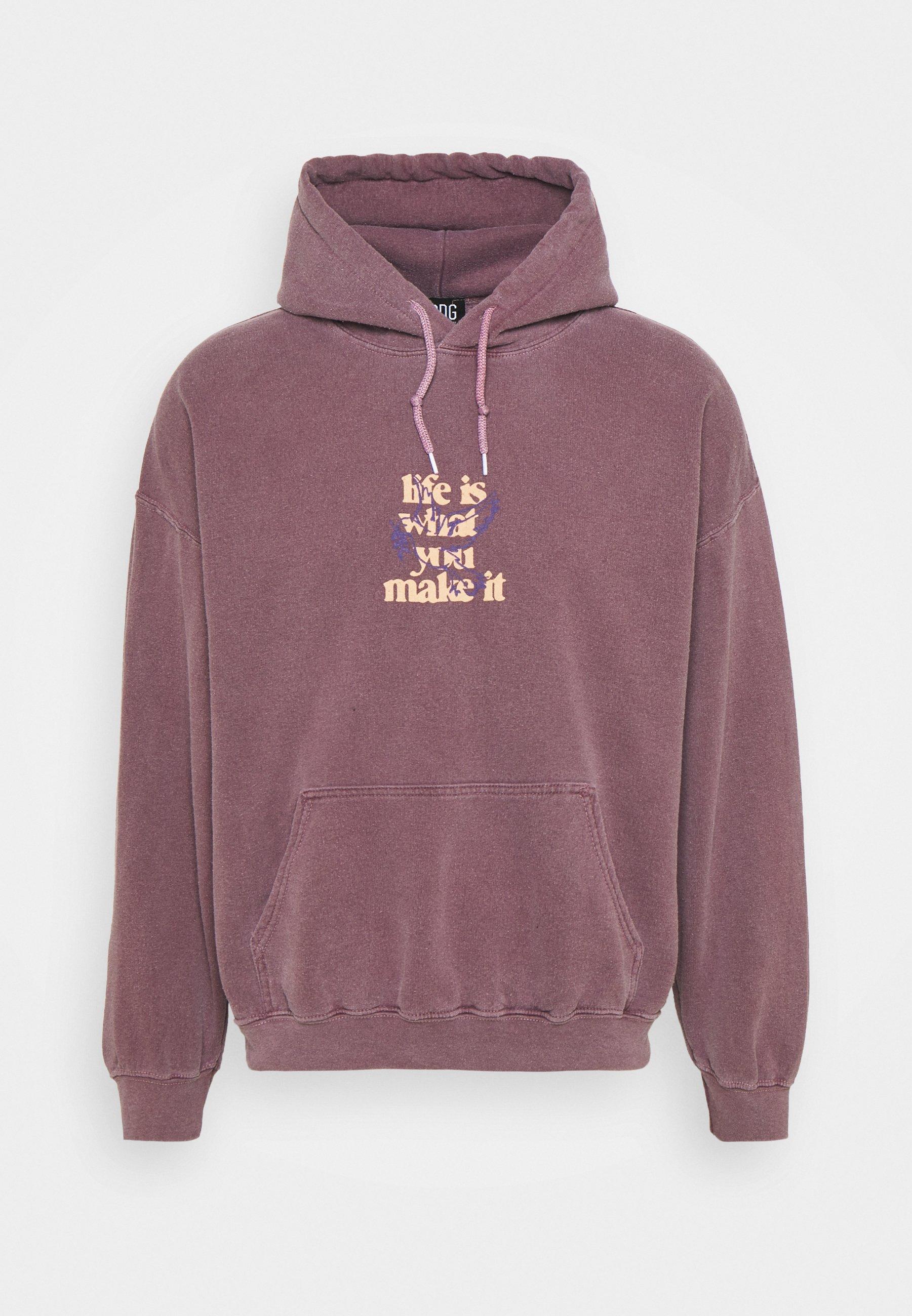 Men LIFE IS WHAT YOU MAKE IT HOODIE UNISEX - Sweatshirt