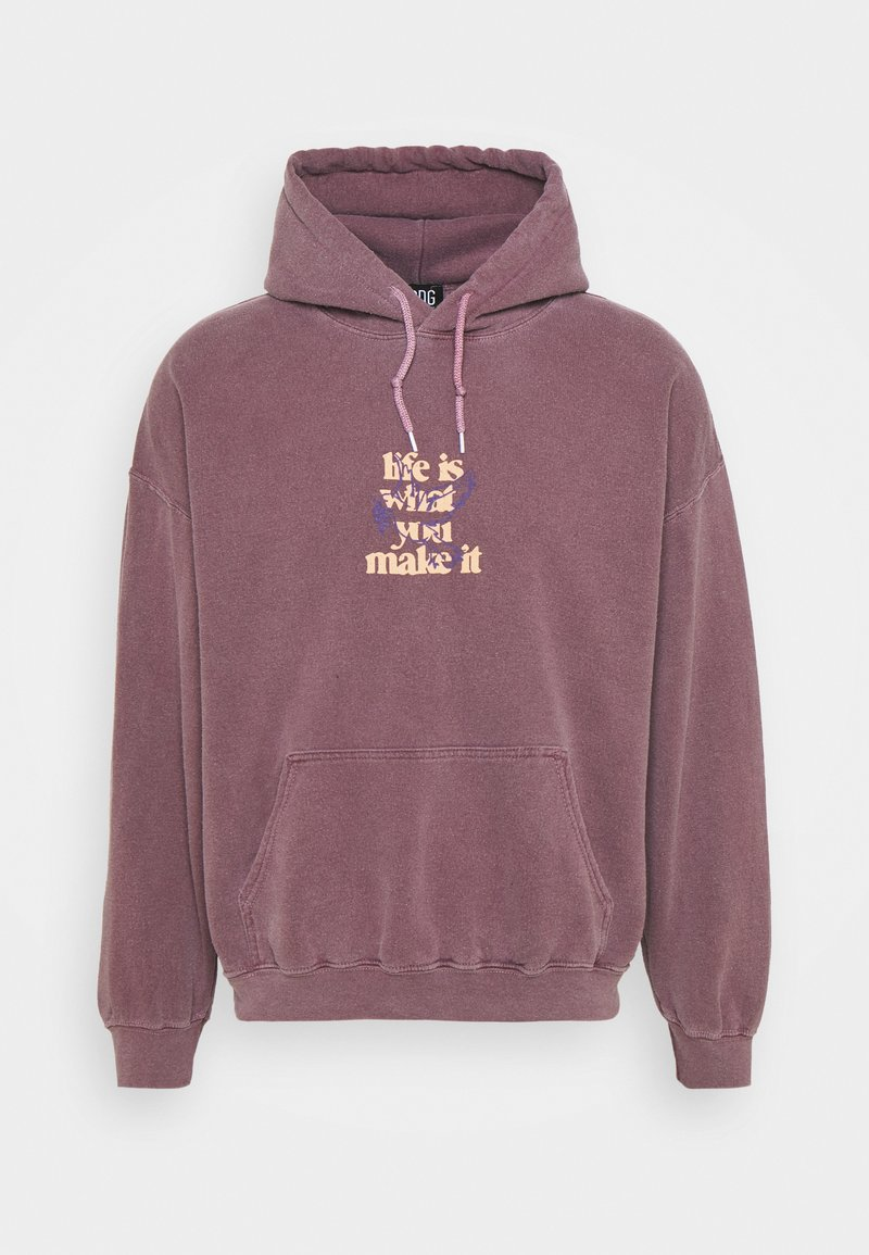 BDG Urban Outfitters - LIFE IS WHAT YOU MAKE IT HOODIE UNISEX - Sweatshirt - purple