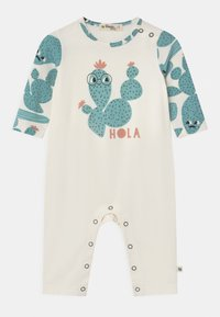 The Bonnie Mob - LOS ANGELES LONG SLEEVE UNISEX - Jumpsuit - white/green - 0