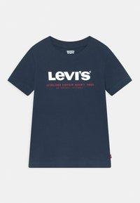 Levi's® - SHORT SLEEVE GRAPHIC TEE - Print T-shirt - dress blues - 0