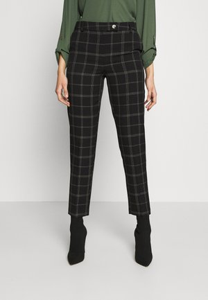 TALL EDIT GRID CHECK ANKLE GRAZER TROUSER - Pantaloni - multi