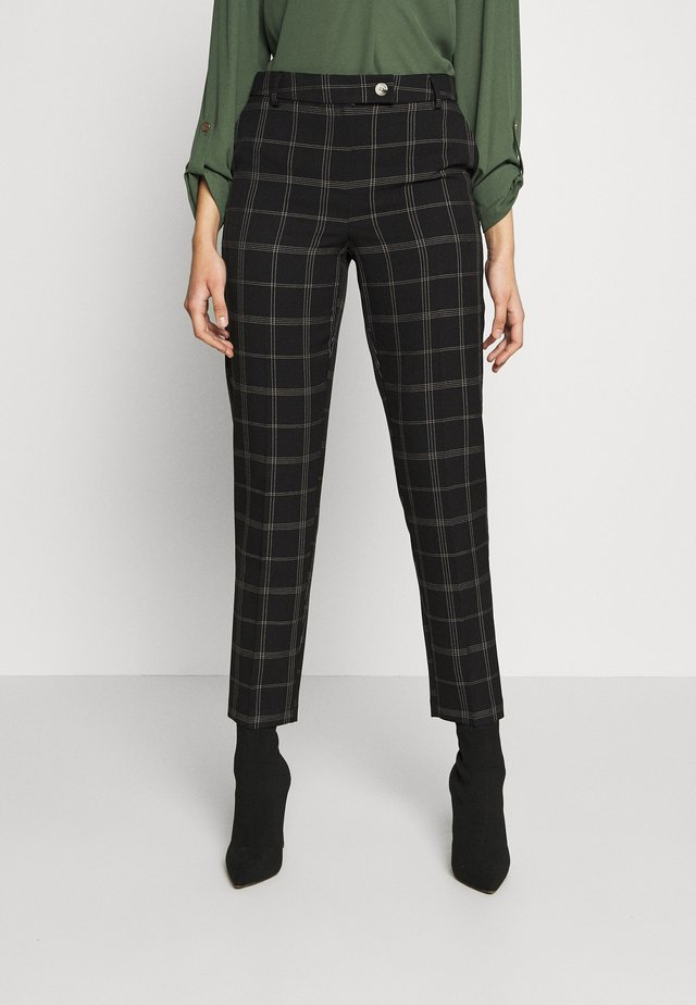 TALL EDIT GRID CHECK ANKLE GRAZER TROUSER - Trousers - multi