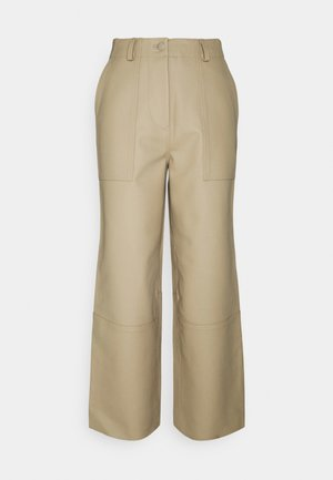 PRESLEY PANTS - Trousers - beige