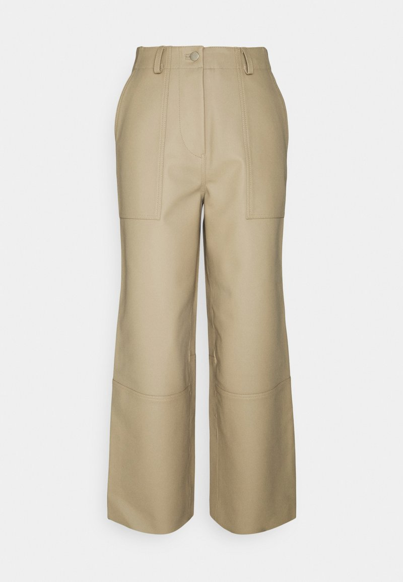 Deadwood - PRESLEY PANTS - Trousers - beige