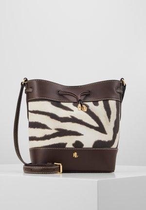 PRINTED DEBBY - Across body bag - zebra