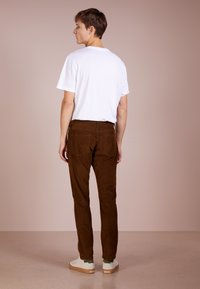 J.CREW - Tygbyxor - warm brown - 2
