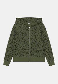 ARKET - HOODIE - Mikina na zip - green - 0