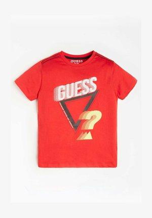 LOGO FRONTPRINT - T-shirt print - rot/merf.