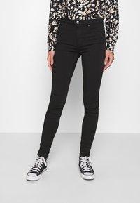 ONLY - ONLFOREVER LIFE - Jeans Skinny Fit - black denim - 0