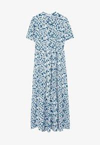 Mango - SHIRTY - Shirt dress - azul - 5