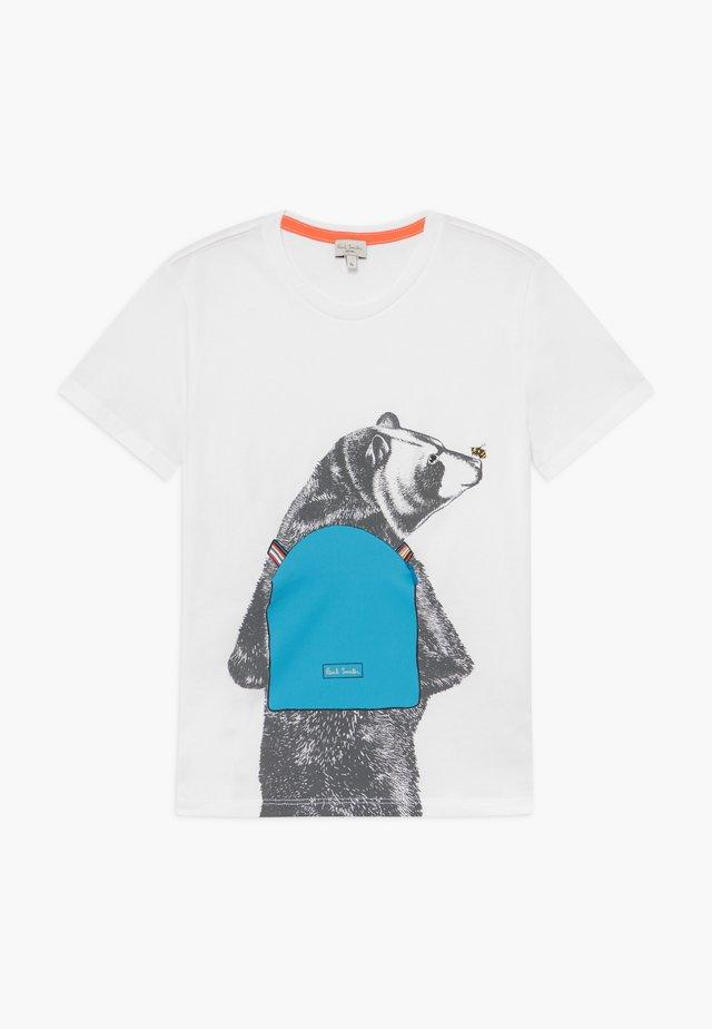 ADALO - T-shirt print - white