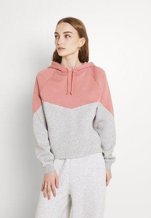 PCCHILLI CONTRAST HOODIE  - Sweatshirt - ash rosel