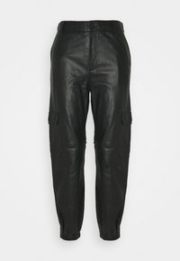 Part Two - GERTA - Leather trousers - black - 5