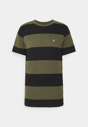 HANDSWORTH CREW - Print T-shirt - military
