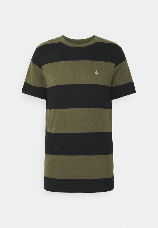 HANDSWORTH CREW - T-shirt con stampa - military