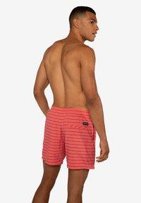 Protest - SHARIF - Swimming shorts - deep coral - 5