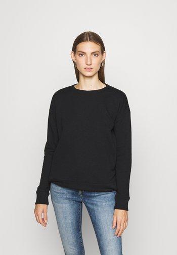OZALLA LONG SLEEVE - Bluza - polo black