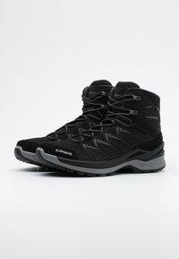 Lowa - INNOX PRO GTX MID - Hiking shoes - schwarz/grau - 1
