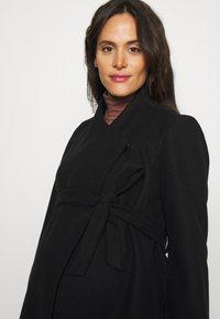 MAMALICIOUS - MLNEWROXY COAT - Short coat - black - 3