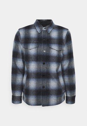 Summer jacket - dark blue/white
