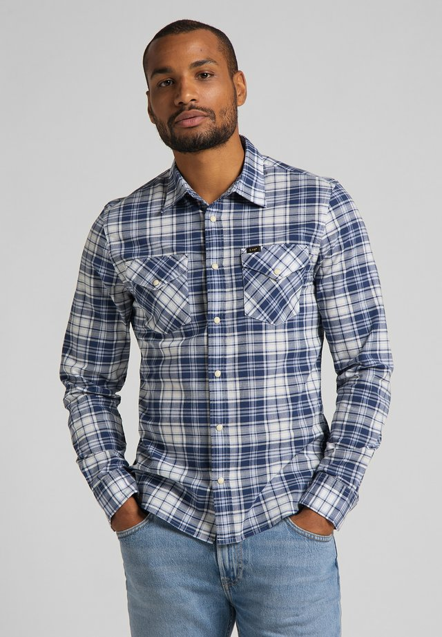 CLEAN WESTERN - Camicia - navy