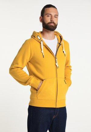 Zip-up sweatshirt - curry