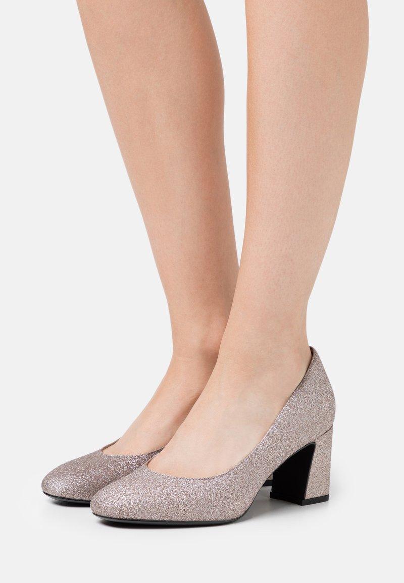 Tamaris - COURT SHOE - Classic heels - space glam