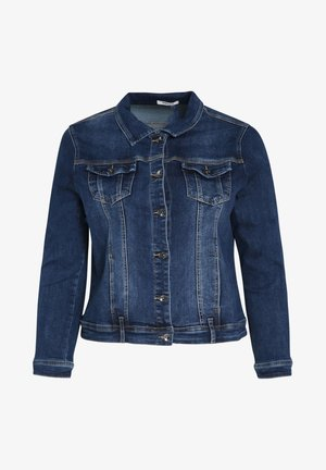 IN DUNKLER WASCHUNG - Denim jacket - denim