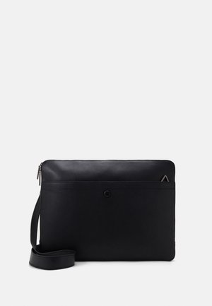 UNISEX LEATHER - Briefcase - black