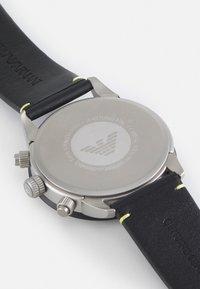 Emporio Armani - MARIO - Kronografklockor - black - 3