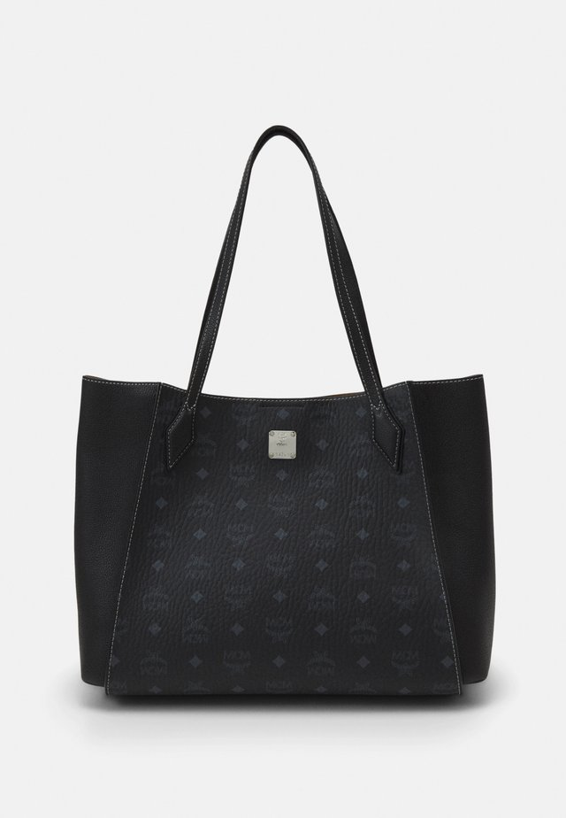 LUISA VISETOS BLOCK - Bolso shopping - black