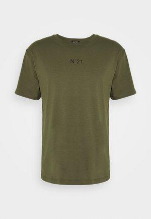 Camiseta estampada - verde oliva