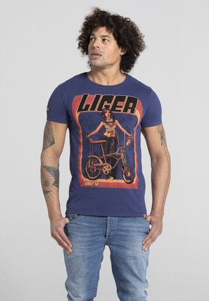 LIMITED TO 360 PIECES - VINCE RUARUS - BIKE - Print T-shirt - royal blue