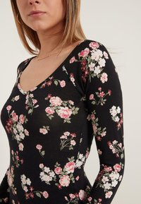 Tezenis - Long sleeved top - nero st.romantic flowers - 2