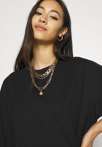 Weekday - INES DRESS - Jersey dress - black - 4