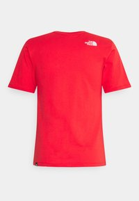 The North Face - SIMPLE DOME - Basic T-shirt - horizon red - 6