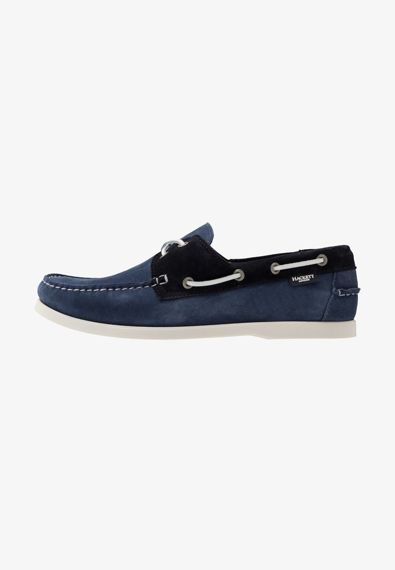 Hackett London - Boat shoes - denim/navy