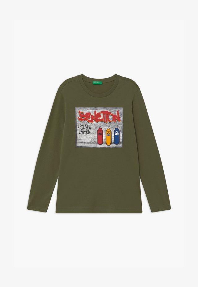FUNZIONE BOY - T-shirt à manches longues - khaki