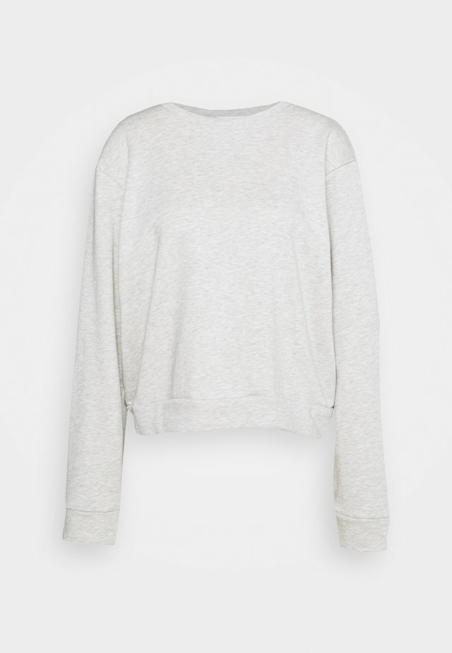 HOLLY - Sweatshirt - grey melange