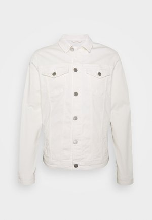 SLHJEPPE - Denim jacket - white denim