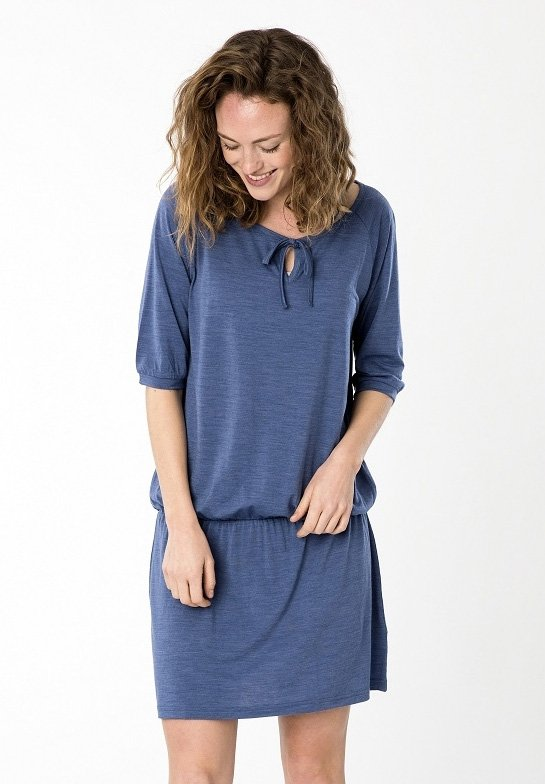 WAYFARER  - Jersey dress - blue