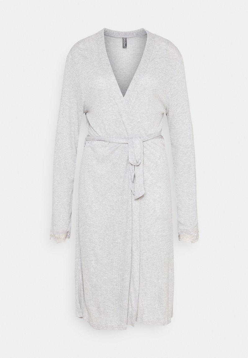 LingaDore - KIMONO - Dressing gown - grey