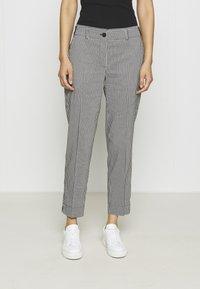 Betty & Co - Trousers - black/white - 0
