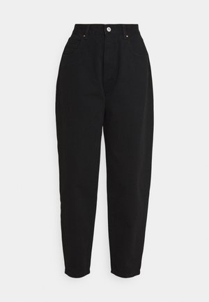 SLOUCH MOM - Jeans baggy - black