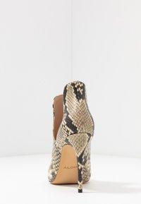 ALDO - AMILMATHIEN - High heeled ankle boots - natural - 5