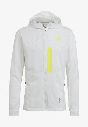 MARATHON TRANSLUCENT  - Sports jacket - white
