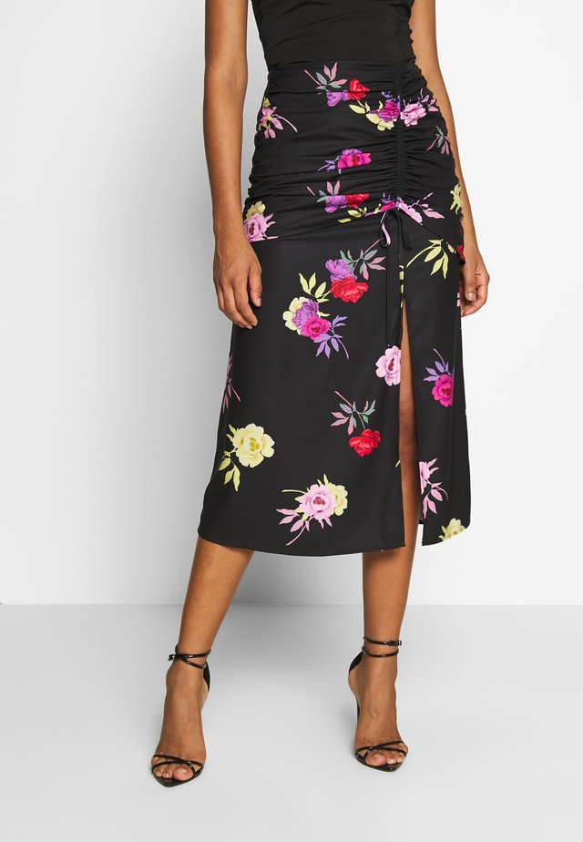 RUCHED DETAIL SKIRT - A-line skjørt - multi