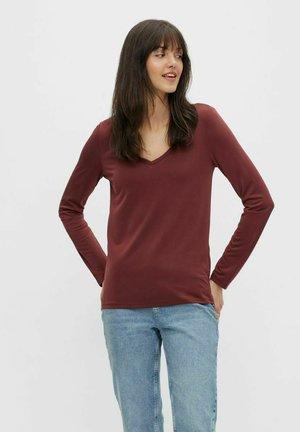 PCKAMALA - Pitkähihainen paita - red mahogany