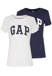 GAP - FRANCHISE TEE  2 PACK - T-shirt con stampa - navy uniform - 0