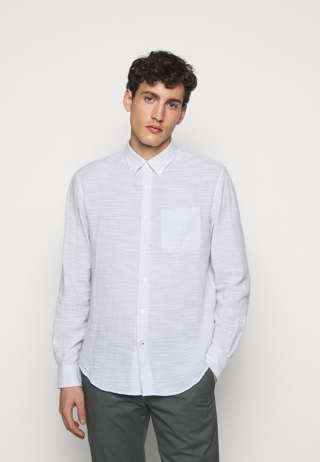 SLUB DOBY  - Shirt - grey multi